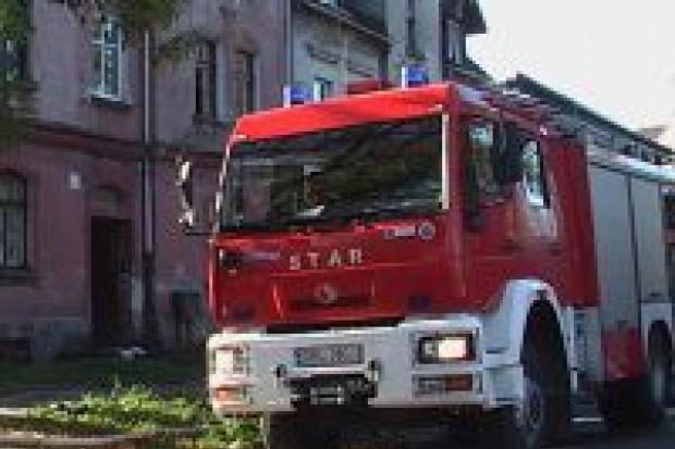 Płonęło mieszkanie przy ulicy Polnej