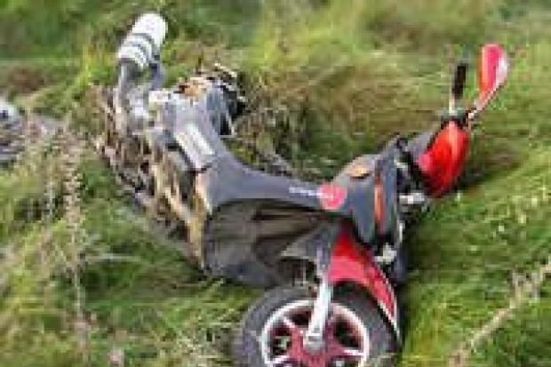 Wypadek kierowcy za Dobrą. Sarna wybiegła mu na drogę