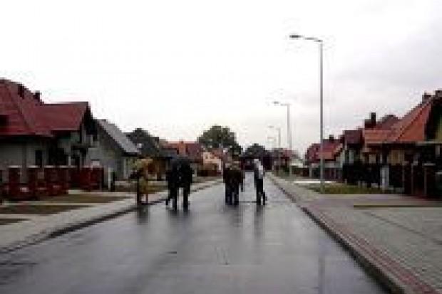 Wybudowano drogi przy ulicach Rumianków i Tulipanowej