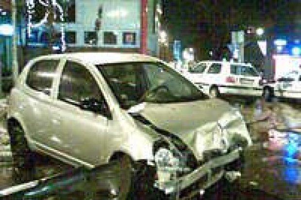 Jedna osoba ranna w wypadku na ulicy Asnyka