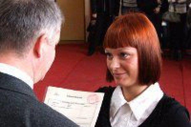 Uczniowie ZSOiZ odebrali certyfikaty Europass