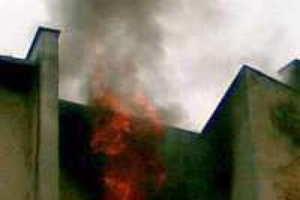 Spłonęło mieszkanie przy ulicy Karola Miarki