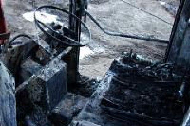 Pożar w gospodarstwie rolnym w Ocicach