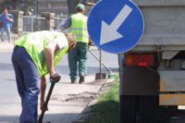 Sprzątanie ulicy Chrobrego - utrudnienia do piątku