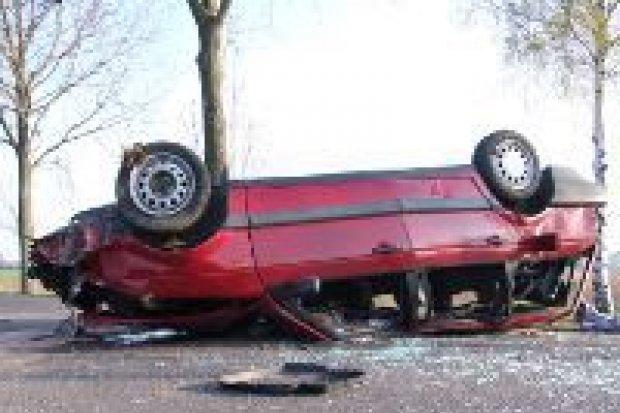 Śmiertelny wypadek koło Łazisk