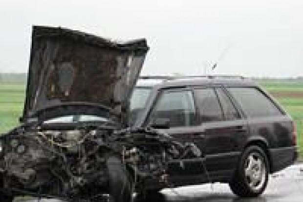 Kolejny wypadek na krajowej czwórce
