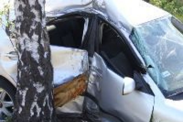 Jedna osoba ranna w wypadku na drodze A-18