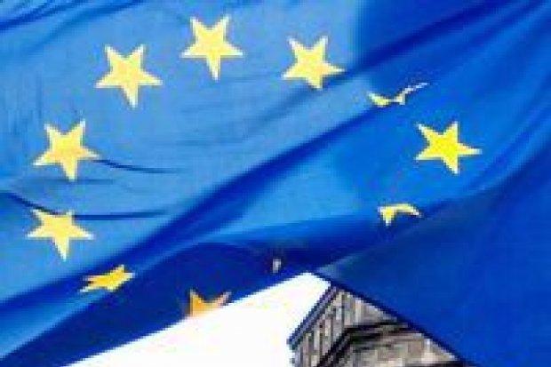 Wpadka z flagą europejską