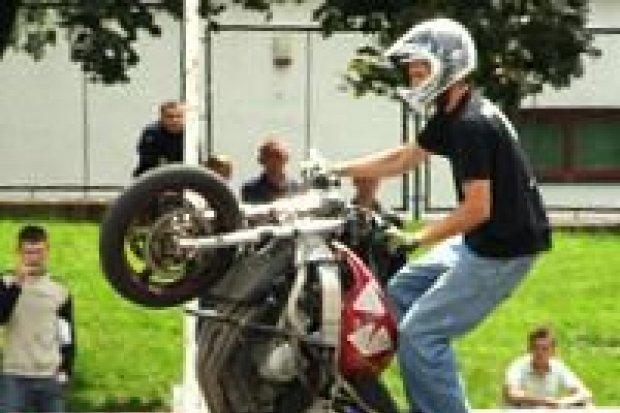 Popisy na motocyklach w Bolesławcu
