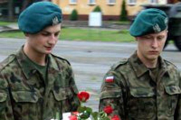 Pożegnanie żołnierzy z ostatniego poboru