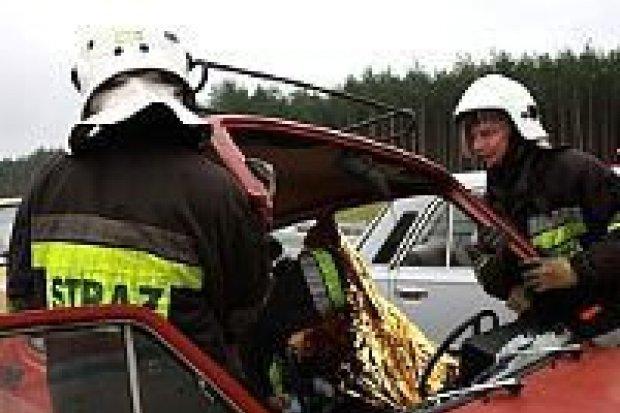 Straż pożarna, policja, pogotowie – wspólne ćwiczenia na autostradzie