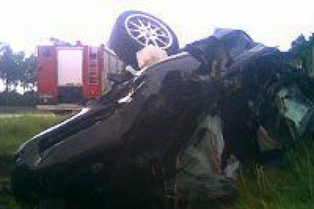 Młoda kobieta zginęła w wypadku na autostradzie A-18