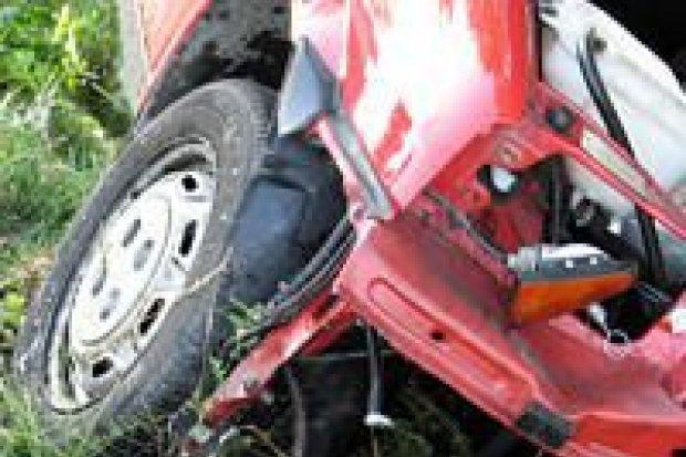 Wypadek za Kruszynem – jedna osoba ranna