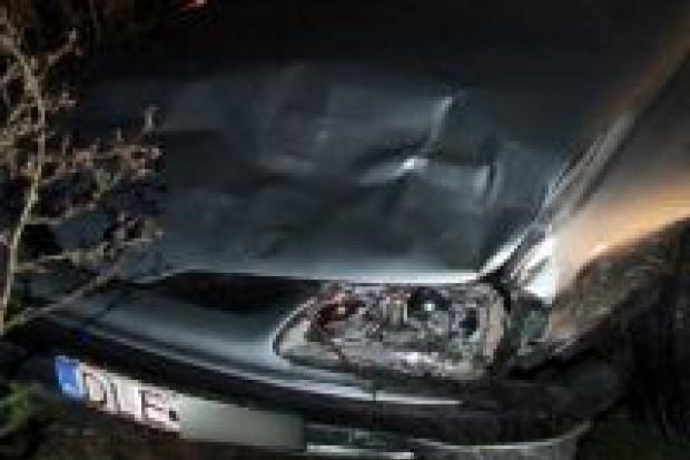 Jedna osoba ranna w kolizji pod Tomaszowem