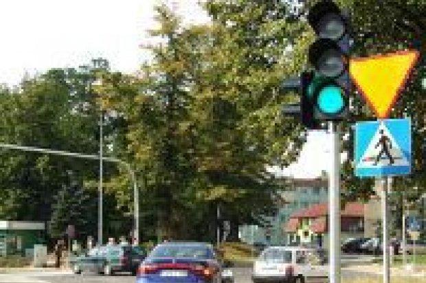 Sygnalizacja świetlna na ul. Zygmunta Augusta