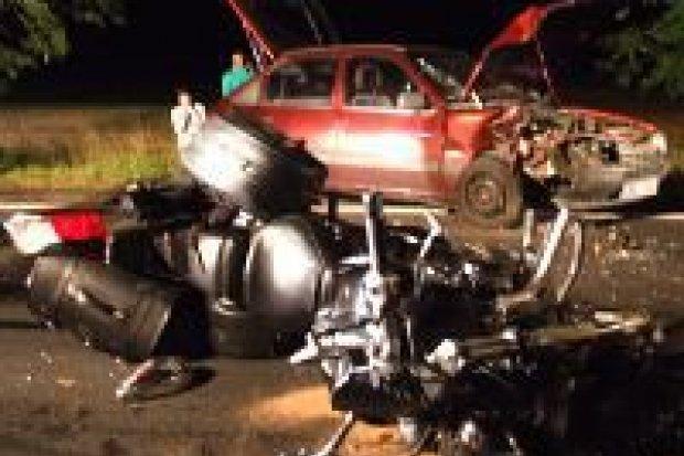 """Motocyklista ranny przy """"zakręcie śmierci"""""""