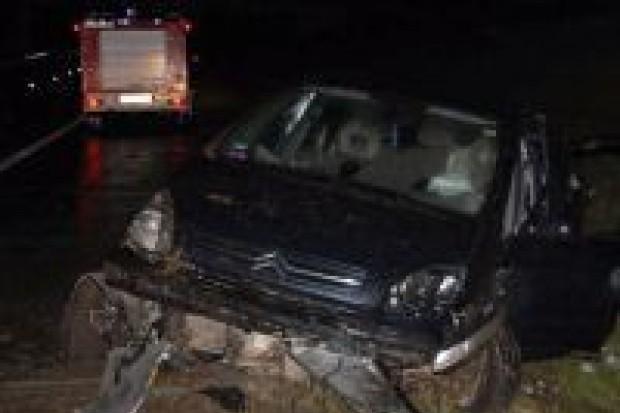 Cztery osoby ranne w kolizji na A4