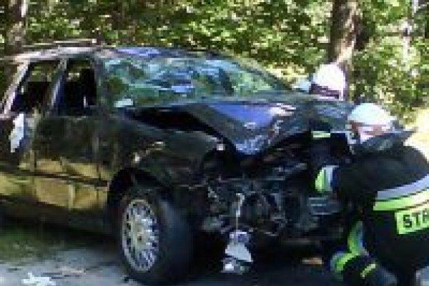 Kolizja pod Kliczkowem – dwie osoby ranne