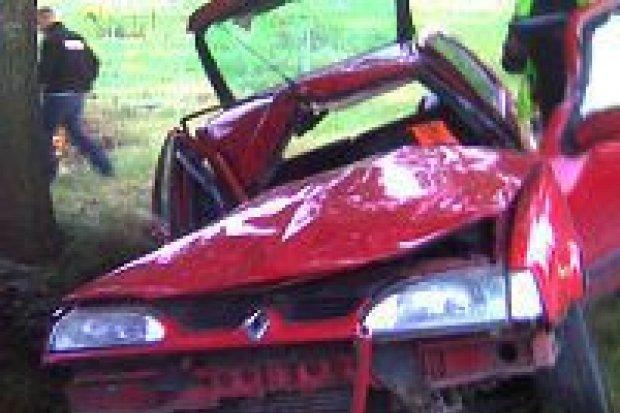 Mężczyzna zginął w wypadku koło Gromadki