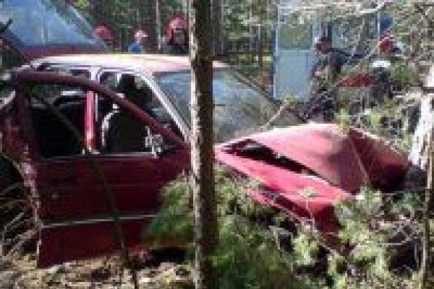 Wypadek w Kozłowie – cztery osoby ranne