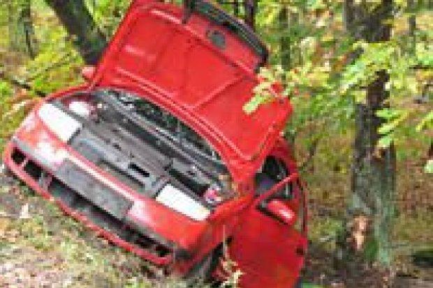 Trzy osoby ranne w wypadku za Dobrą