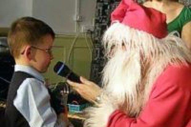 Święty Mikołaj odwiedził MDK w Bolesławcu