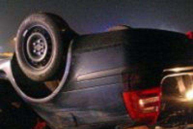 Dwie osoby ranne w wypadku na A4