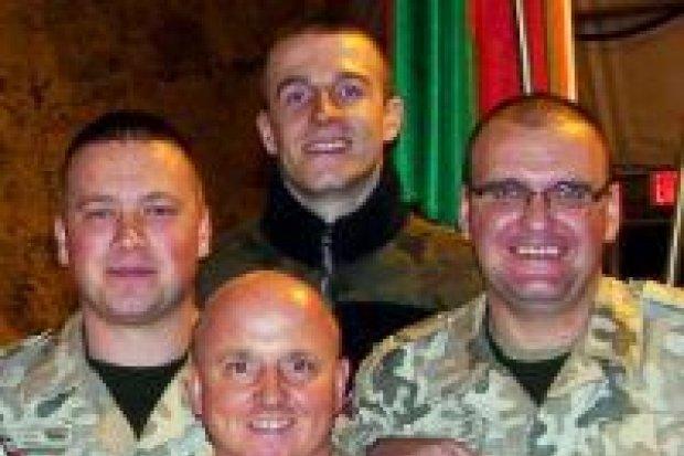 Koncert wigilijny dla żołnierzy w Afganistanie