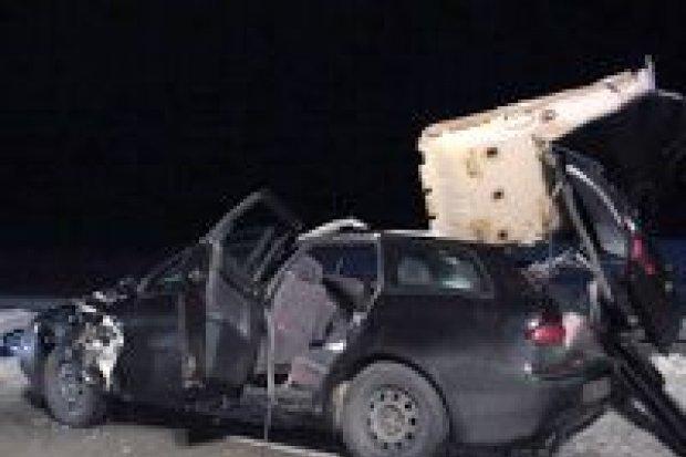 Wypadek na A18: jedna osoba nie żyje, trzy w szpitalu