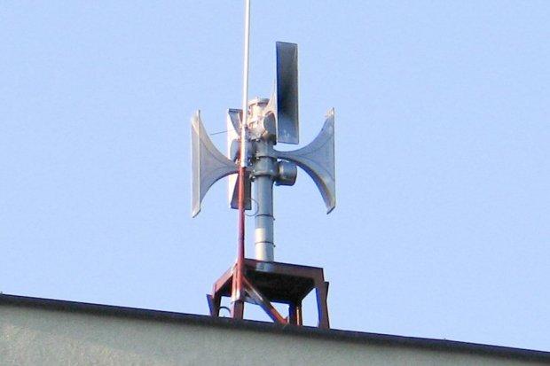 Test systemu ostrzegania i alarmowania ludności