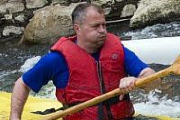 Spływ pontonowy na Kwisie