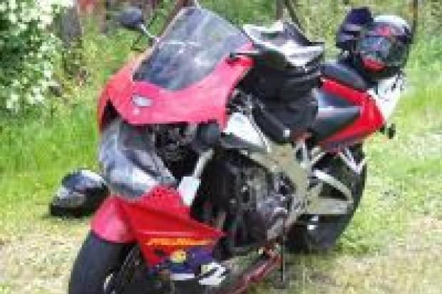Motocyklista ranny w wypadku w Łaziskach