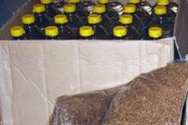47-latka wpadła z nielegalnym alkoholem i tytoniem