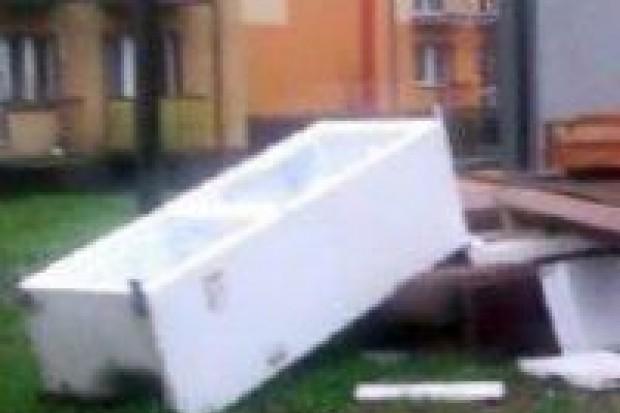 Bolesławianie śmiecą przy Zygmunta Augusta