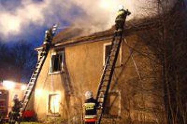 Pożar w Kraśniku Górnym