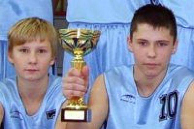 Koszykarze z GS nr 1 najlepsi w powiecie