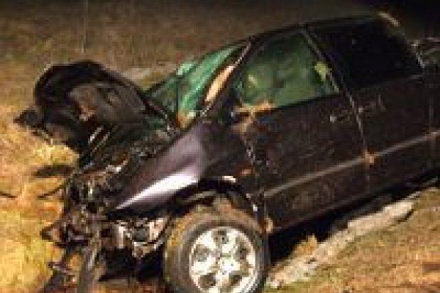 Wypadek w Brzeźniku – dwóch mężczyzn rannych