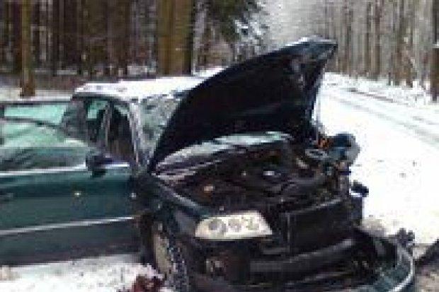Wypadek koło Wartowic – 7 osób rannych