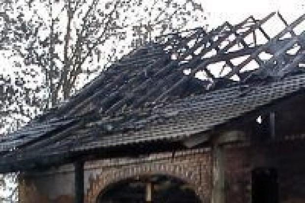Spłonęła stodoła w Gościszowie