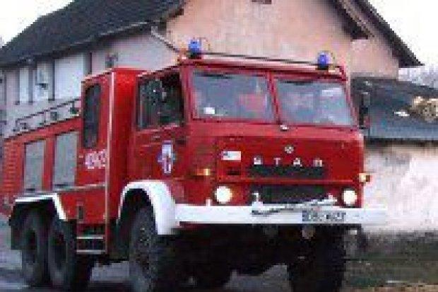 Pożar kurnika w Milikowie
