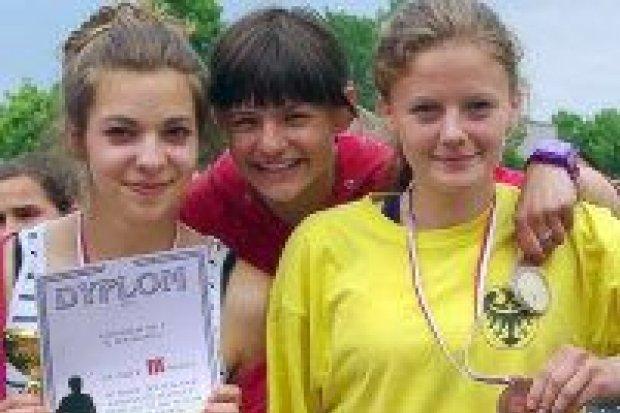 Lekkoatletki z GS nr 2 trzecie w województwie
