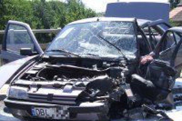 6 osób rannych po zderzeniu w Czernej