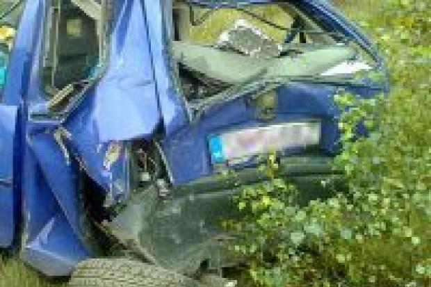 Kolizja na A18: dwie osoby ranne