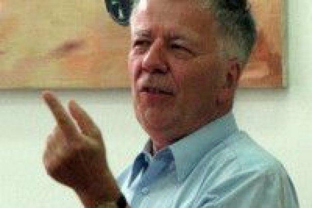 Profesor Miodek w Nowej Wsi