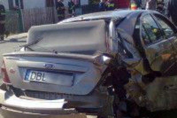 Dwie osoby ucierpiały w kolizji w Gierałtowie