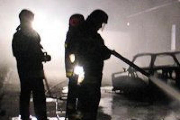 Dwa auta spalone tej nocy