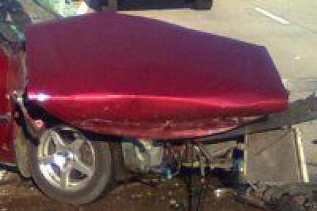 Dwa wypadki, kilkoro rannych