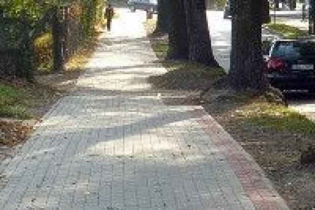 Ulica Spokojna wyremontowana