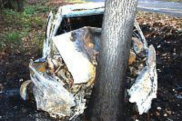 45-latek zginął w wypadku koło Ocic