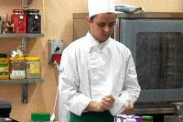 Uczniowie ZSOiZ w Wyższej Szkole Hotelarstwa i Gastronomii